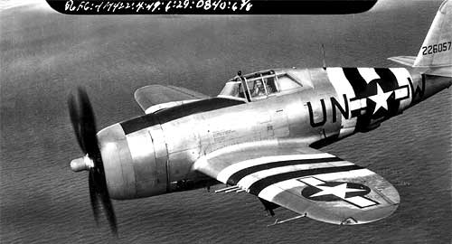 P-47D-22-RE do 56th Fighter Group